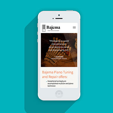 Bajema Piano Tuning Site