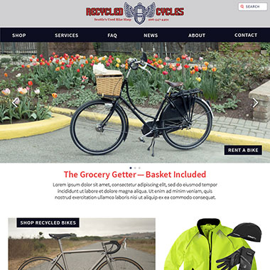 Recycled Cyles Site